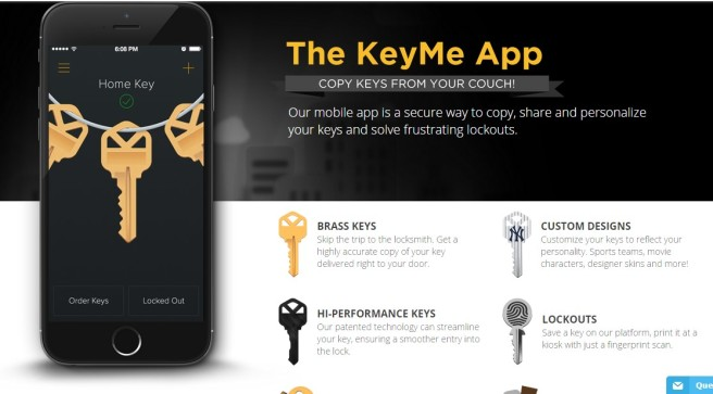 Do You Know How To Back Up Your House Keys In The Cloud? KeyMe App Knows